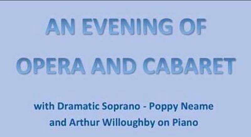 An Evening Of Opera And Cabaret