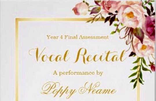 Year 4 Final Assessment